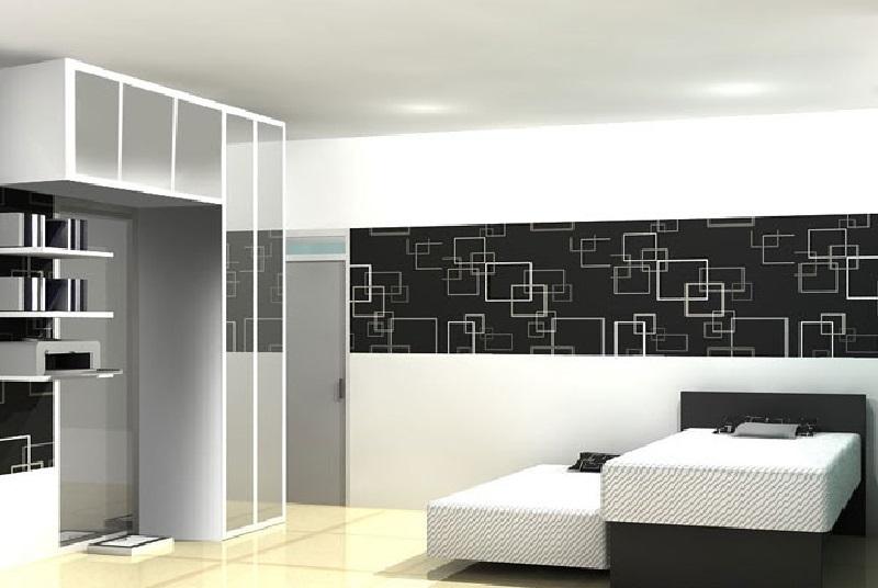 Desain Ruang Kombinasi Hitam Putih Terbaru » Gambar 321 » Dekorasi Rumah Dengan Perpaduan Hitam dan Putih