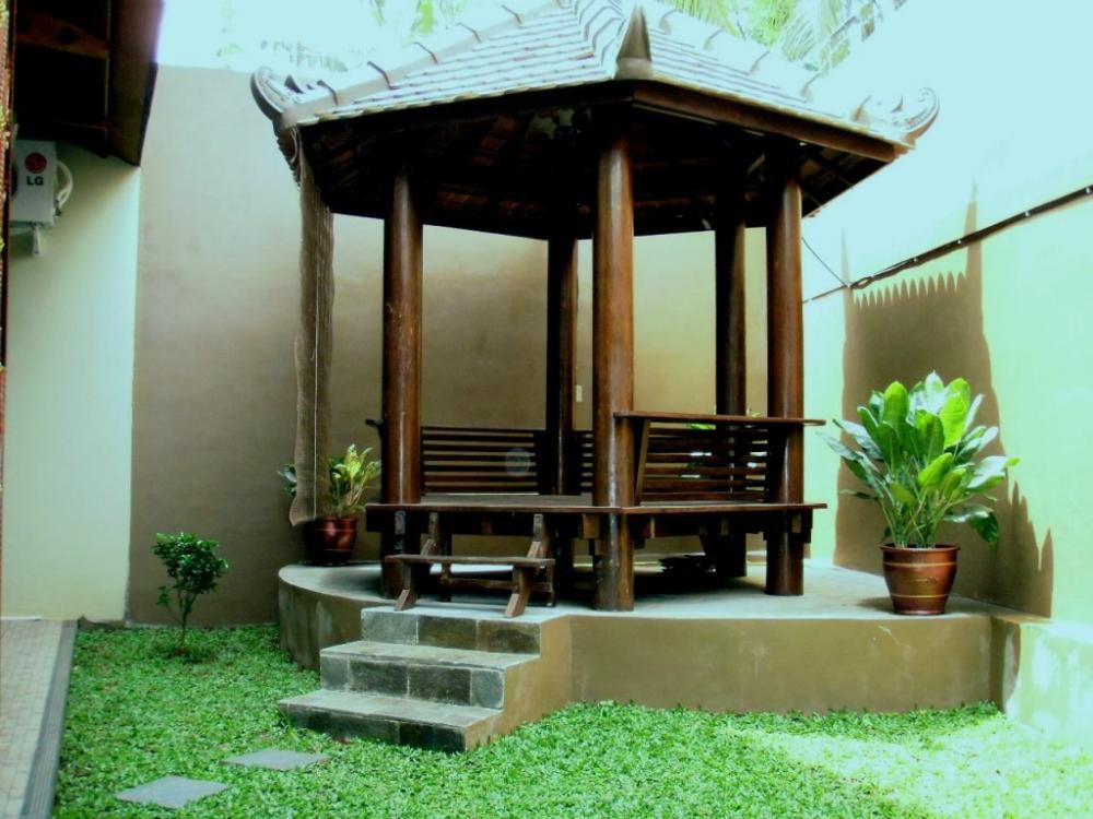 Desain Saung Modern Untuk Taman Tampak Samping » Gambar 003 » Saung Modern Untuk Taman Rumah