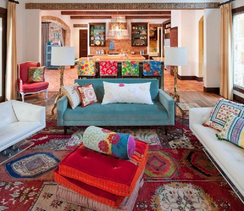 Gambar Desain Karpet Kontemporer Yang Makin Diminati Warna Warni » Gambar 53461 » Desain Karpet Kontemporer Yang Makin Diminati
