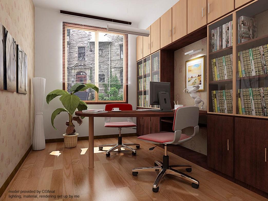 Home Office 92 » Ruang Kerja Dalam Rumah (Home Office)