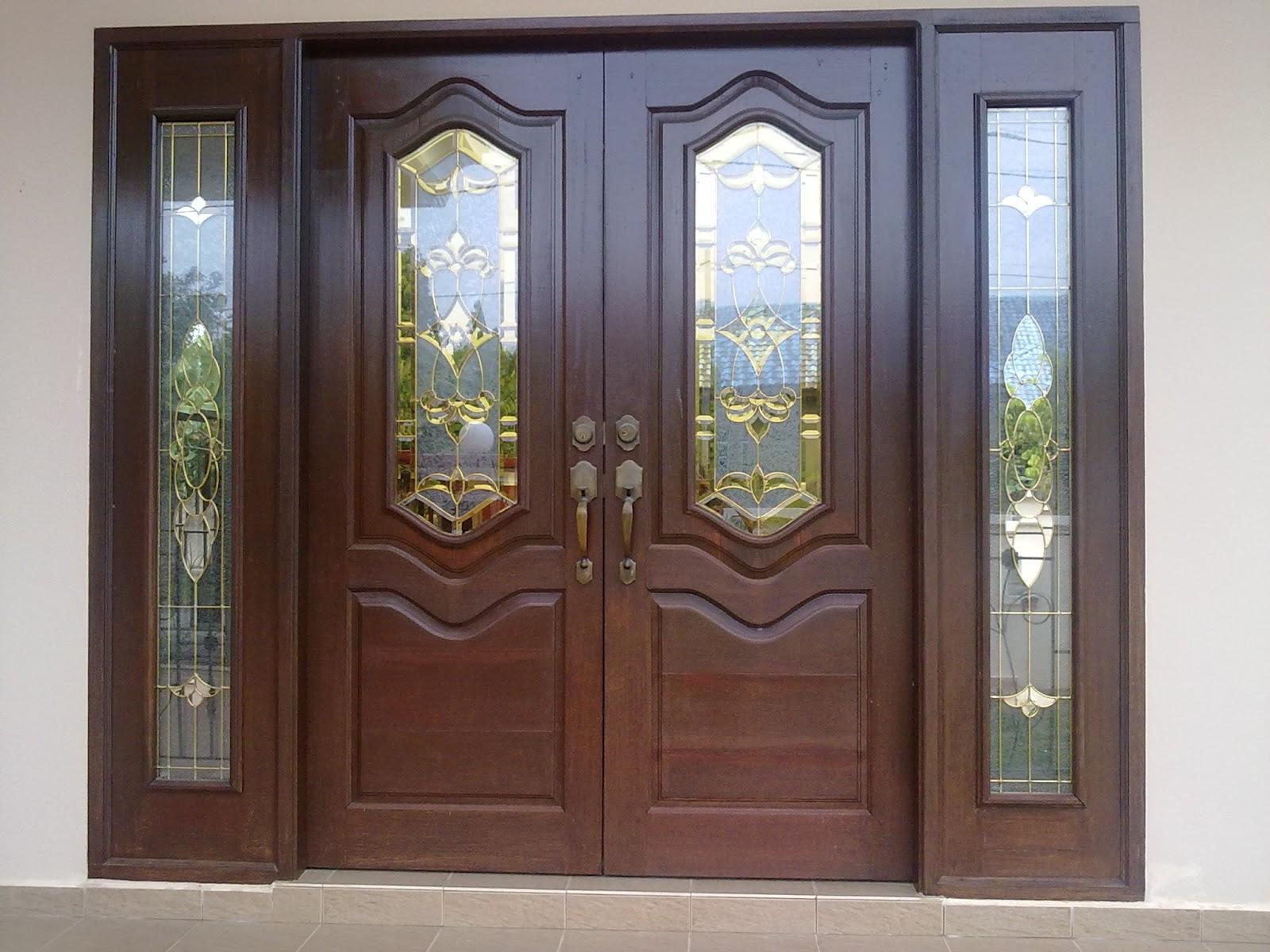 Pintu rumah 46 Model Kusen Pintu Rumah Elegan