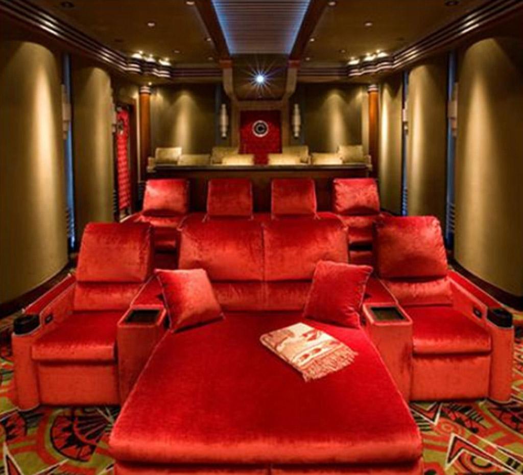 Struktur Desain Bioskop Dalam Rumah » Gambar 004 Desain Ruang Home Theater Dalam Rumah