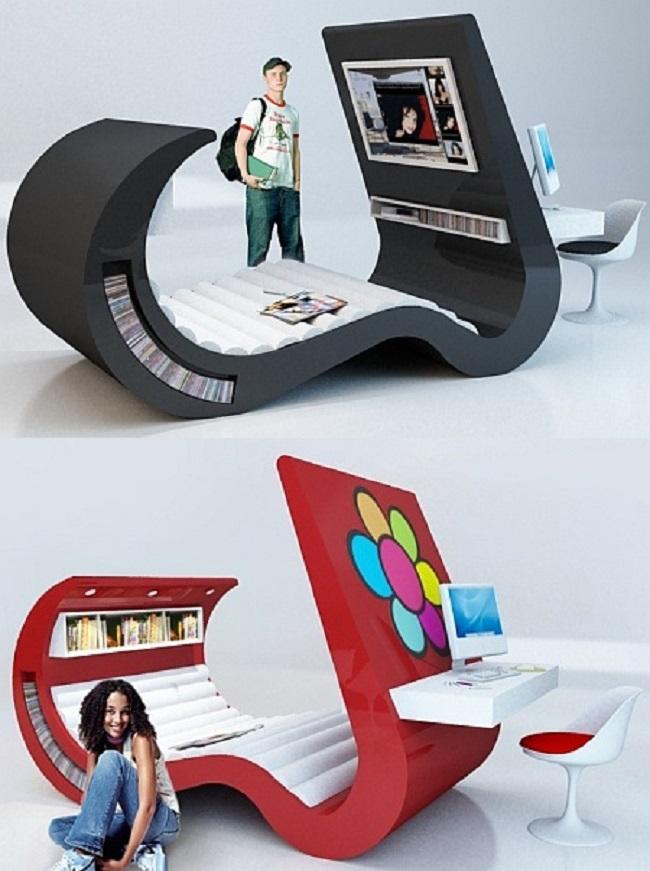 Tempat Tidur Canggih Kamar Tidur Berteknologi Canggih