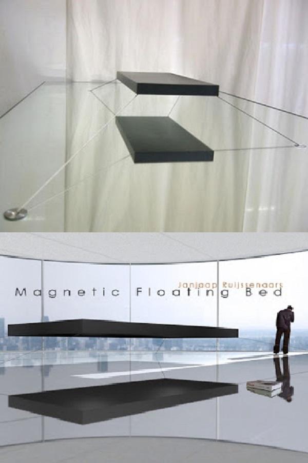 floating bed 02 Kamar Tidur Berteknologi Canggih