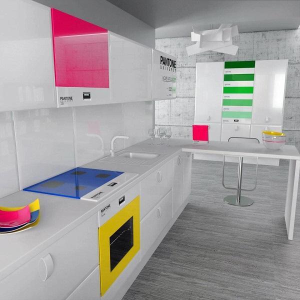 kitchen4 reference » Dapur Keren Dengan Pemilihan Warna Cerah