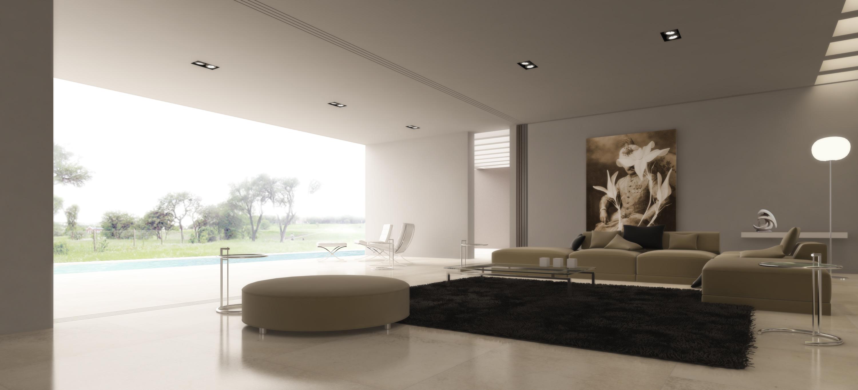 modrn living room 139 Desain Ruang Keluarga Minimalis Modern