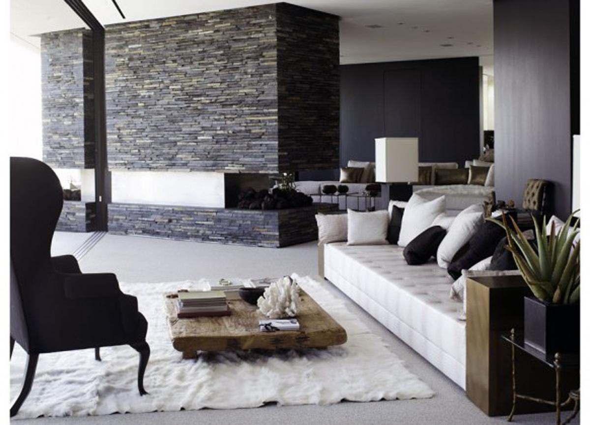 modrn living room 522 Desain Ruang Keluarga Minimalis Modern