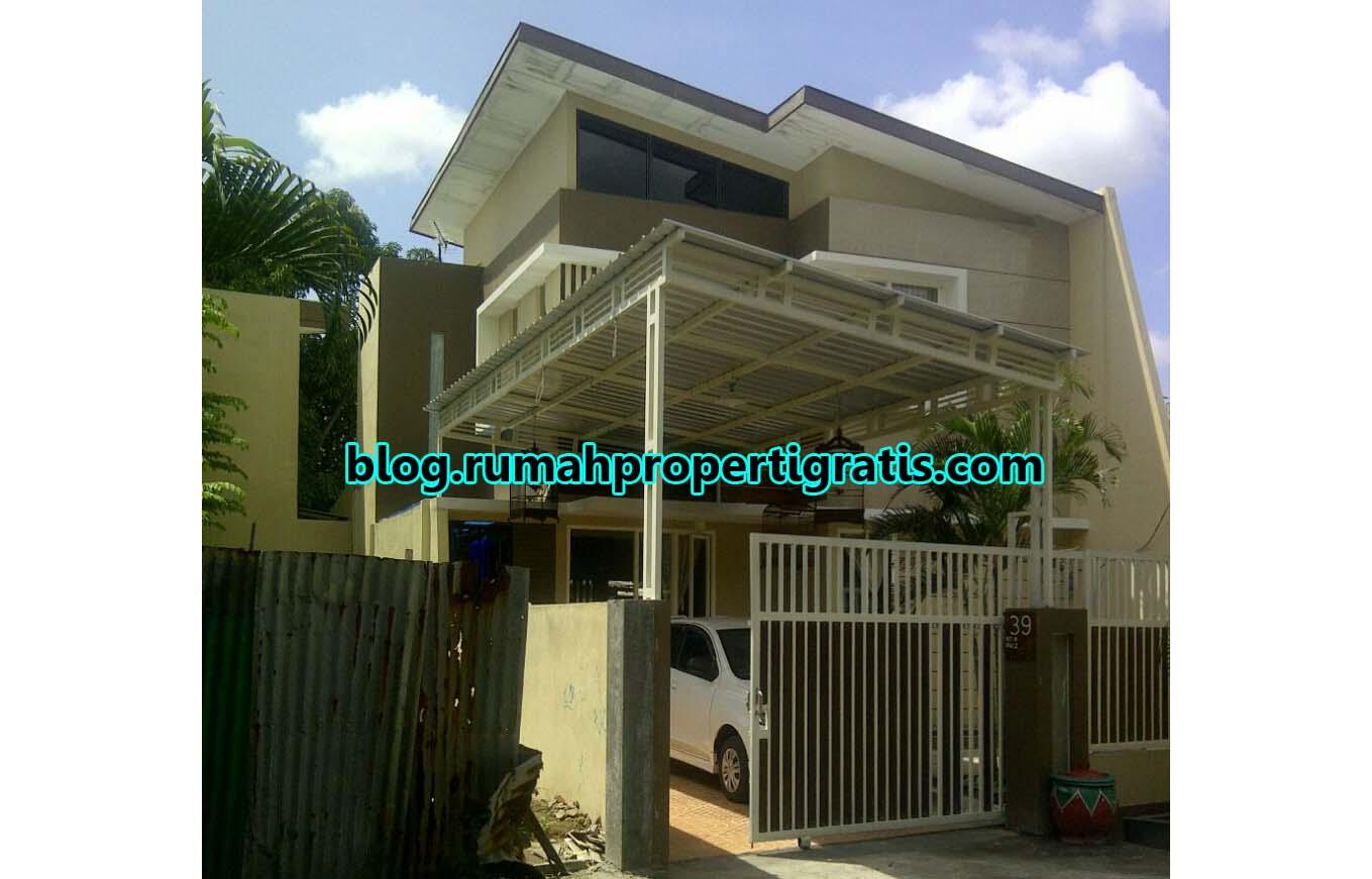 rumah dua lantai minimalis modern Contoh Model Rumah Tingkat Minimalis Sederhana Elegan
